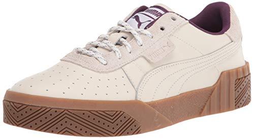 PUMA womens Cali Sneaker, Fair Aqua-pale Pink-puma White, 6 US