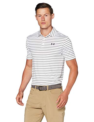 Under Armour Playoff 2.0, Polo Homme, Blanc (Summit White(110)), S