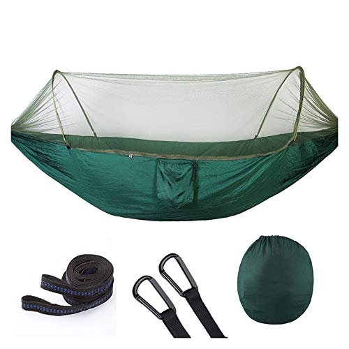 Nanna Hammock with Mosquito Net Camping Hammocks Bug Net Portable Waterproof for Backpacking Travel Hiking Outdoor Portable Camping Hammock