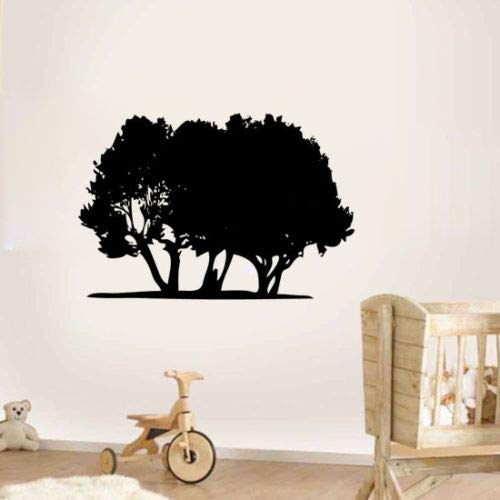 Tianpengyuanshuai Etiqueta de la Pared del árbol Verde Etiqueta de la Pared de Calidad Promocional Etiqueta de la Pared removible a Prueba de Agua Decoración -76X52cm