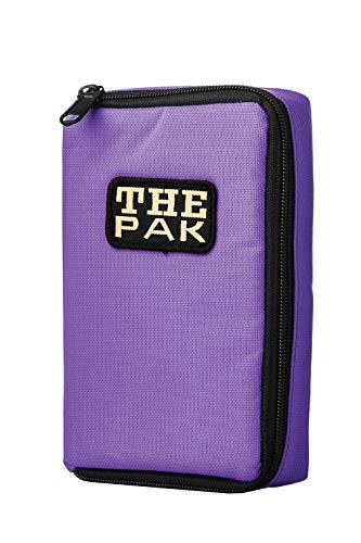 Karella The PAK original, violett, Platz für 3 Dartsets, handlich und geräumig, Perfekter Schutz