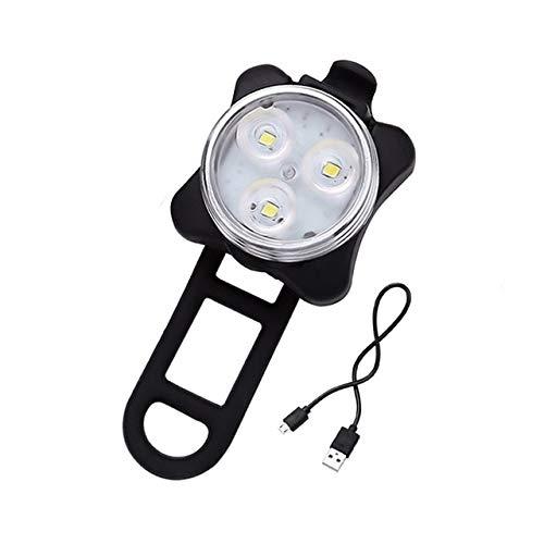 4 modos de luz de bicicleta batería incorporada recargable USB LED bicicleta linterna con montaje Accesorios bicicleta Ciclismo
