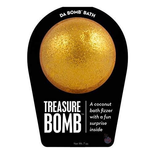 Da Bomb Treasure Bath Bomb Gold