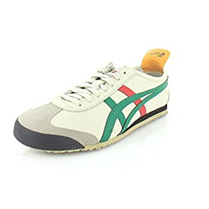 Onitsuka Tiger Unisex Mexico 66 Shoes DL408, Birch/Green
