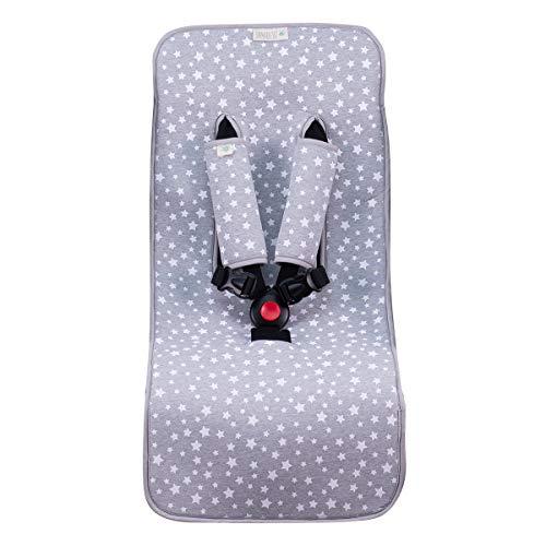 JANABEBE housse universal couverture pour poussette (White Star)