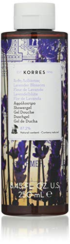 Korres Lavender Blossom Duschgel,1er Pack (1 x 250 ml)