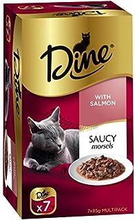DINE Salmon Cat Wet Food 7 x 85g