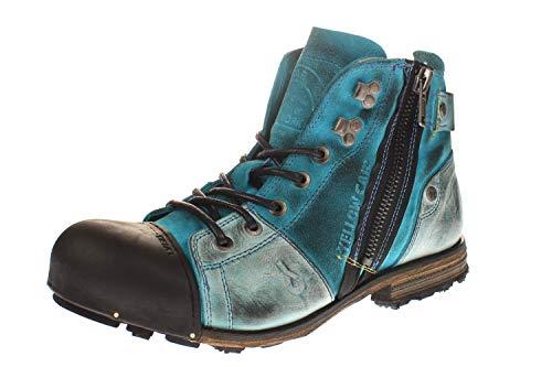 Yellow Cab Y15419 Industrial 2-E - Herren Schuhe Boots/Stiefel,400 Blau,45 EU