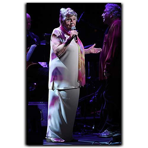 Póster de dragón de Helen Reddy en 3D para sala de estar, caja de música, teatro Broadway feminista himno 'I Am Woman' feminismo cantante de feminismo 12 x 18 pulgadas