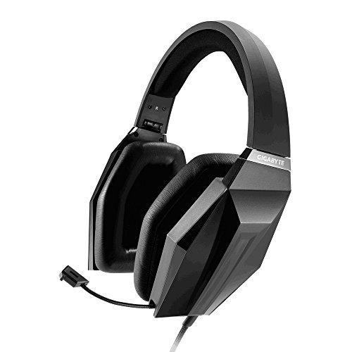 Gigabyte Force H7 Binaurale Diadema Negro Auricular Gaming con micrófono