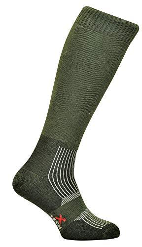 Xtech Chaussettes techniques longues Warrior Vert Taille 35/38