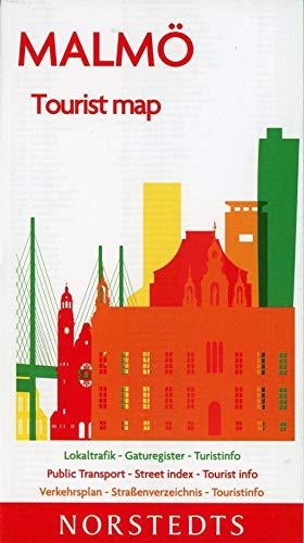 Malmö Tourist map : Skala 1:16 800: amtlicher Stadtplan Malmö