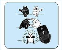 マウスパッドユーモアジャイアントパンダベアマウスマット