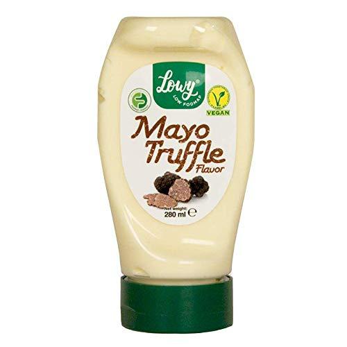 Mayonesa Vegana sabor trufa REAL - SIN huevo - 100% VEGANO - Certificado low FODMAP -