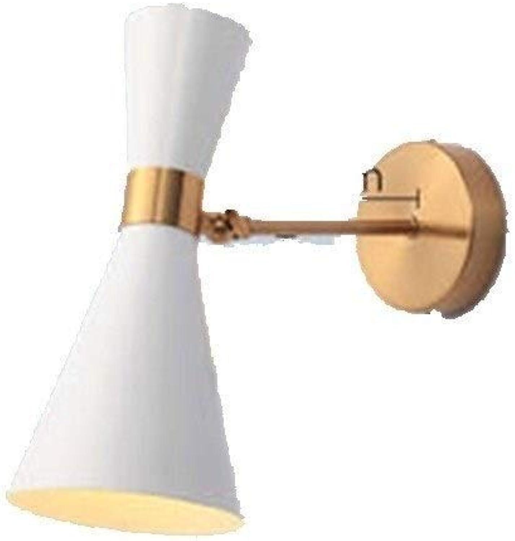 XSWZAQ Nordic Schlafzimmer nachttischlampe Wandleuchte einfache Moderne Gang Flur Hintergrund Wandleuchte kreative persnlichkeit