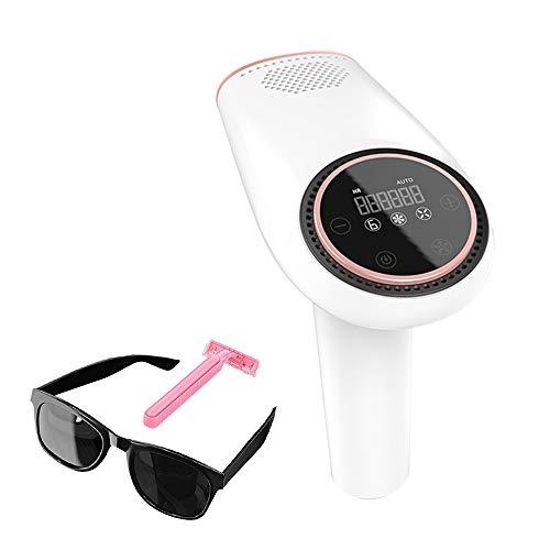 Vogvigo IPL Unisex Laser-Epilierer,999999++ Blinkt Professionelle schmerzlose permanente Haarentfernung, Gesichtshaarentfernungsgerät,Ganzkörper-Heim-Epilierer Touchscreen,Ice Point Ice Compress