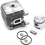 Durable Conjunto de kits de pistón de cilindro para Stihl FS55 FS45 BR45 HL45 HS45 HS55 KM55 Desbrozadora BG85 BG55 BG45 BG46 BG65 Desbrozadora y soplador Piezas de repuesto del motor # 4140 020 1202