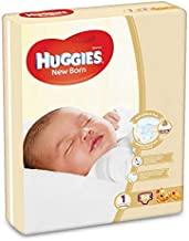 Huggies New Born, Size 1, 0-5 kg, Jumbo Pack, 64 Diapers