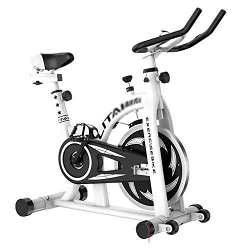 WJFXJQ Bicicletas de Hilado Gimnasio Bicicletas Ultra silenciosas Equipo de Aptitud Interior Bicicletas de Ejercicios con Pantalla LCD