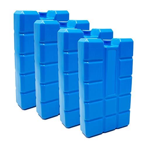 ToCi Garten Accumulateur de froid ou accumulateur de froid à long terme et 4 éléments de refroidissement 400 ml