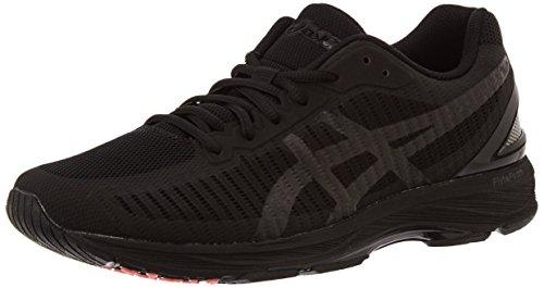 Asics Gel-DS Trainer 23, Zapatillas de Running para Hombre, Negro (Black/Black/Flash Coral 9090), 41.5 EU