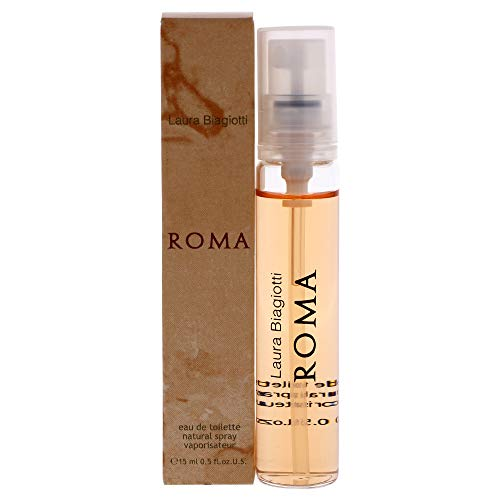 Roma by Laura Biagiotti para mujer – 0.5 oz EDT Spray