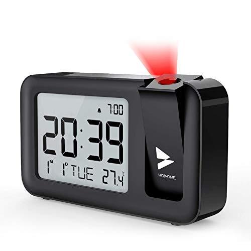 Despertadores Digitales Proyector Y Temperatura Marca Hosome