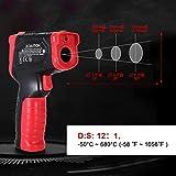 Immagine 1 termometro a infrarossi laser digitale