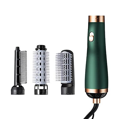 GHMPNLG 5 in 1 ultimo asciugacapelli, volume e ricciolo d'aria, asciugacapelli leggeri per donne, set di volumizzatore con testa di spazzola intercambiabile, pennello raddrizzatore per tutti i tipi di