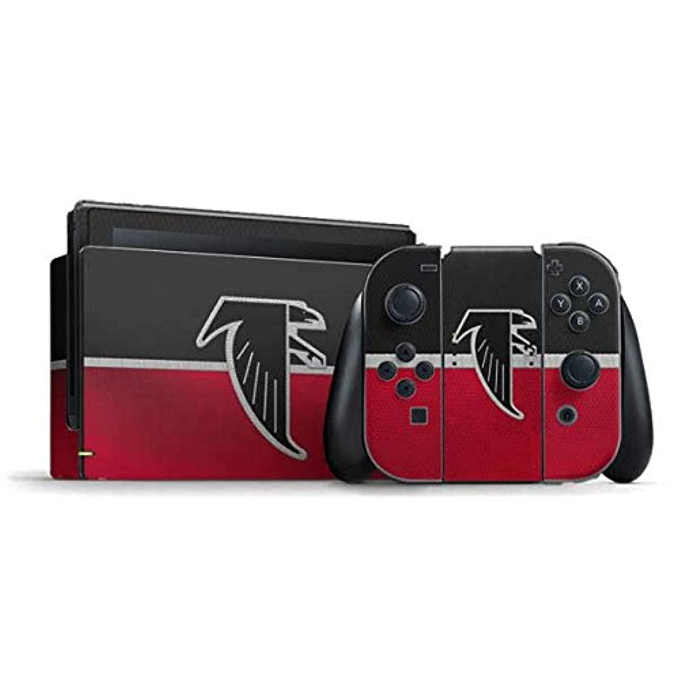 NFL Atlanta Falcons Nintendo Switch Bundle Skin - Atlanta Falcons Vintage Vinyl Decal Skin For Your Switch Bundle