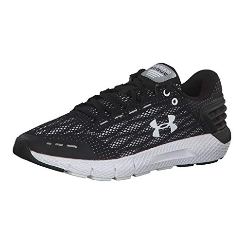 Under Armour Charged Rogue, Zapatillas de Running Mujer, Negro (Black/White/White (002) 002), 40.5 EU