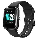 Lintelek,Smartwatch Orologio Fitness Tracker Uomo Donna Smart Watch Cardiofrequenzimetro da Polso...