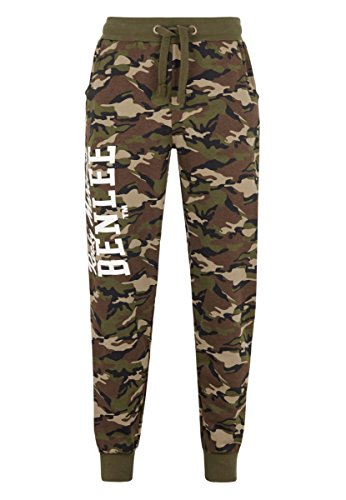 BENLEE Rocky Marciano - Pantaloni da Jogging da Uomo Fontana, Uomo, Pantaloni da Jogging, 190623, Camo Woodland, M
