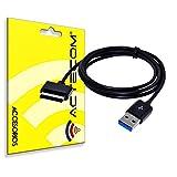 actecom® USB Cable Datos para Cargador ASUS EEE Pad TF101 Prime TF201 TF300
