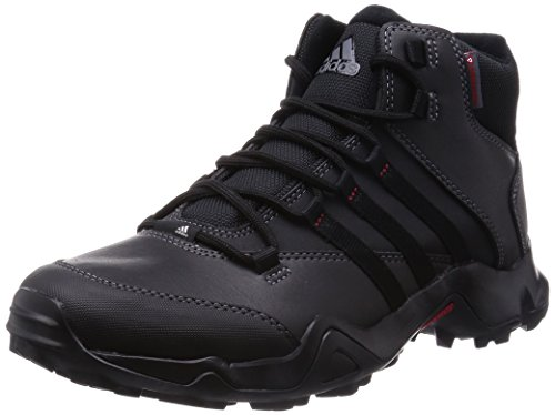 Adidas Cw Ax2 Beta Mid, Herren Trail Running, Schwarz (Core Black/Visible Green/Power Red), 45 1/3 EU