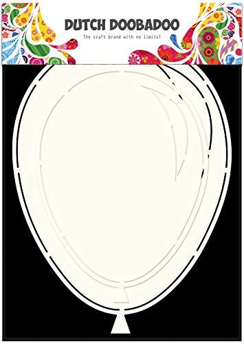 Dutch Doobadoo 470.713.631 kaarten sjabloon luchtballonnen (2x) A5,