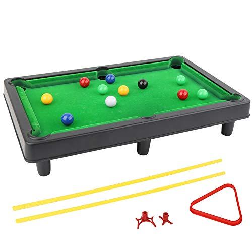 CAAA Tapis Pool Anglais ou Snooker Vert 2.80 m