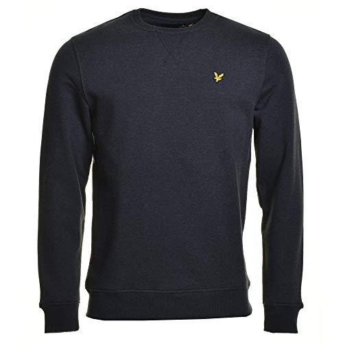 Lyle & Scott Crew-Ausschnitt Sweatshirt Kohle Mergel Medium
