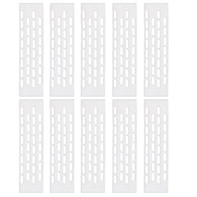 10 x Queen Bee Excluder Trapping Grid Beekeeping Tool Equipment White