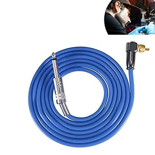 Corde molle de clip de tatouage de silicone, ligne flexible de crochet de silicone Ligne de fil de tatouage de noyau pour le kit de conversion de puis