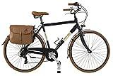 Canellini Via Veneto By Bicicletta Bici Citybike CTB Uomo Vintage Retro Dolce Vita Alluminio Nero (54)