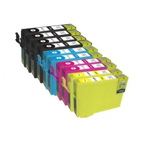 T29 XL KIT 10 Cartucce Compatibili Per Epson Expression Home XP-235 245 247 255 XP-332 XP-335 345 342 355 XP-432 435 442 445 452