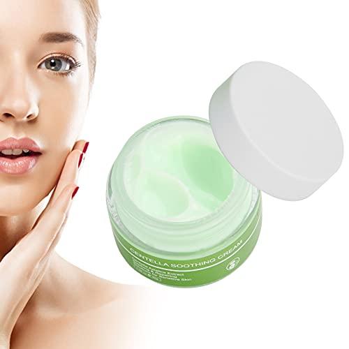Crema hidratante facial de 30 g, barrera para la piel, tratamiento antiarrugas suave, crema facial diaria calmante hidratante antienvejecimiento para mujeres y hombres