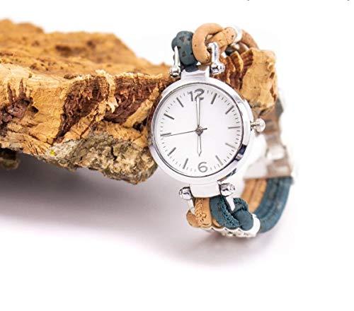 Handmade cork watch for women WA-125 - 1unit-