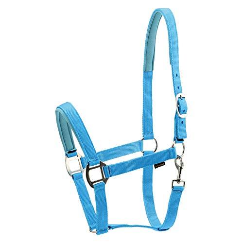 Horse Guard Nylonhalfter für Pferde - türkis - Kaltblut