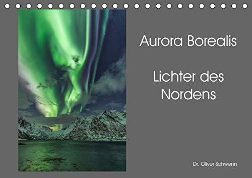 Aurora Borealis - Lichter des Nordens (Tischkalender 2021 DIN A5 quer)