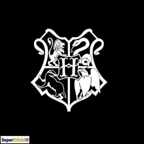 SUPERSTICKI Harry Potter Hogwarts Crest ca.20cm Aufkleber,Autoaufkleber,Sticker,Decal,Wandtattoo, aus Hochleistungsfolie,UV&waschanlagenfest,