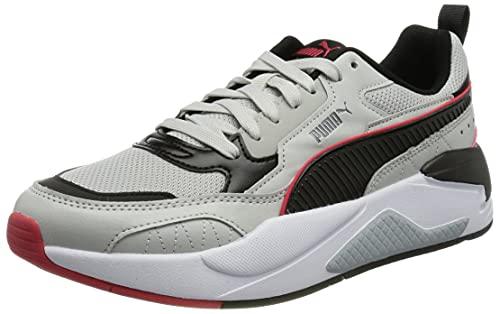 Puma Unisex X-RAY 2 Square Sneaker, Grau Violett Schwarz High Risk Red Quarry, 43 EU