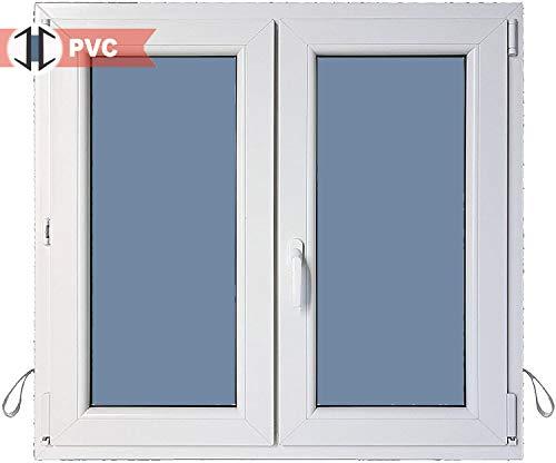 Ventana PVC Practicable Oscilobatiente 2 hojas 1200 ancho x 1000 alto