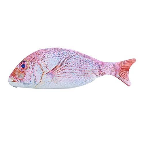 nbvmngjhjlkjlUK Gran Capacidad Kawaii Fish Shape Pencil Case Moda Coreana Casual Lápices...